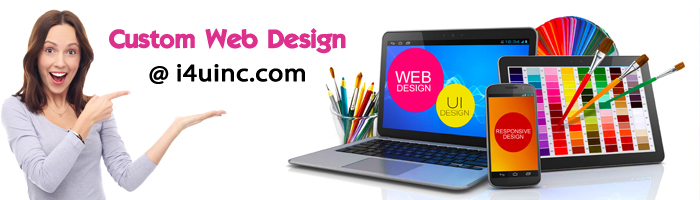 i4u custom web design